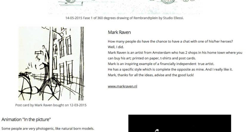 Mark Raven blog mention Studio Ellessi