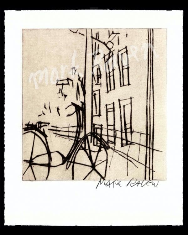 Bicycle Mark Raven Amsterdam Arts Fiets