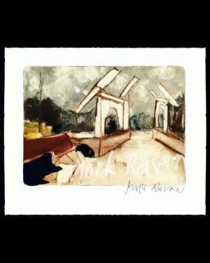 Skinny Bridge Mark Raven Amsterdam Art