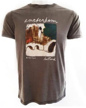 Amsterdam Art T-Shirt Brug 1