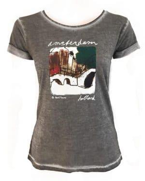 Women's T-shirt Brug 1 Mark Raven