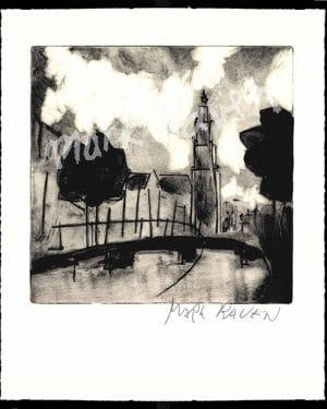 Mark Raven Amsterdam Art Westertower